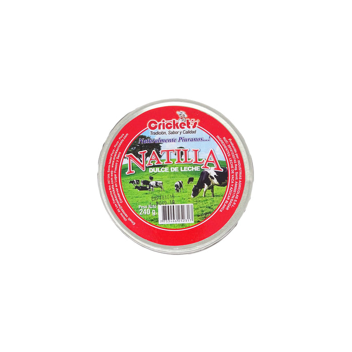 "Natillas Dulce de Leche (Piura)  ""Crickets"" 240 g"