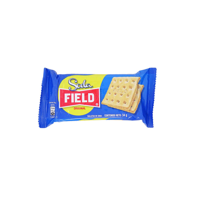 "Bolsa de 06 Galletas ""Soda Field"" 204 g"