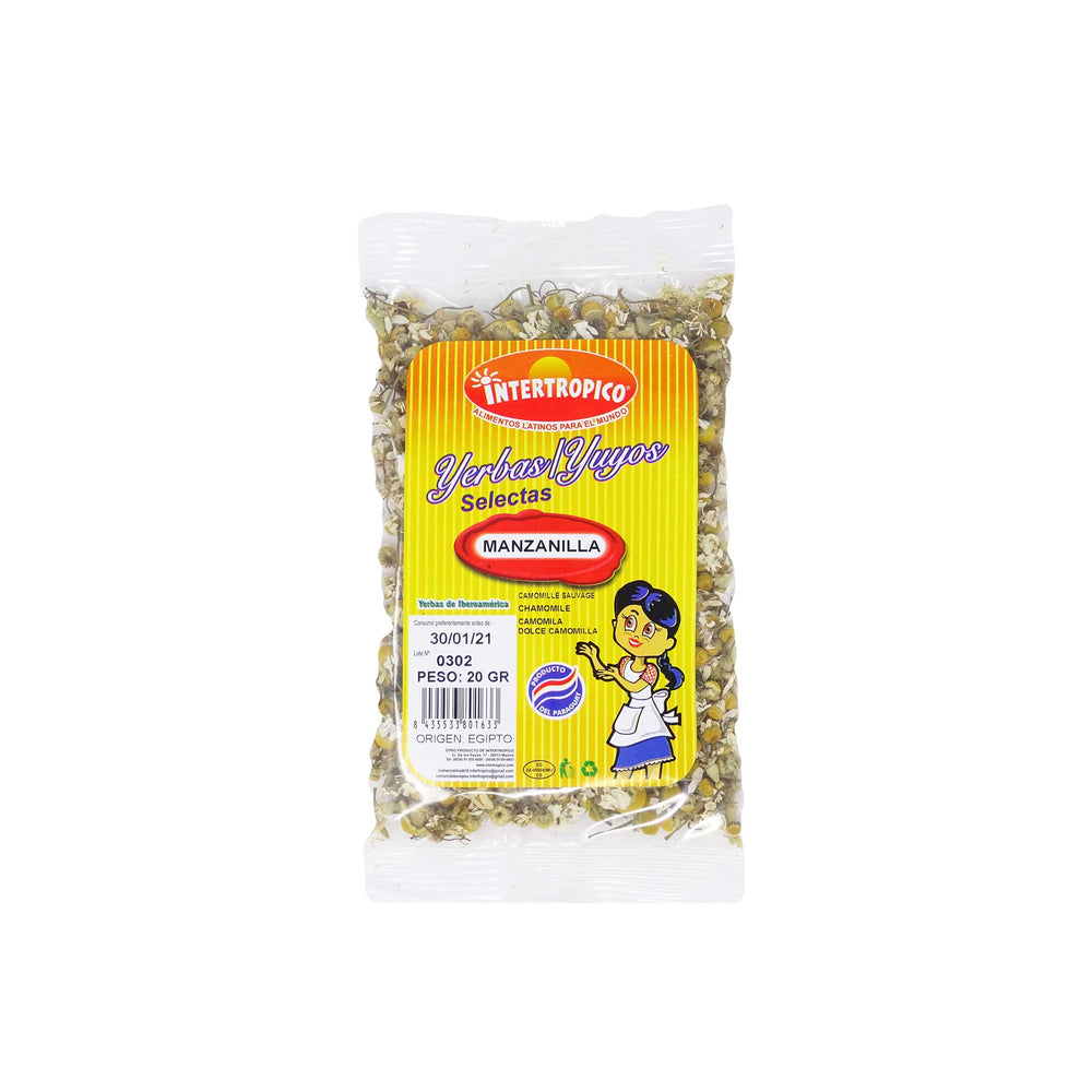 Manzanilla Intertropico 20 g