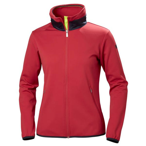HELLY HANSEN W NAIAD FLEECE JACKET CARDINAL 53035-176