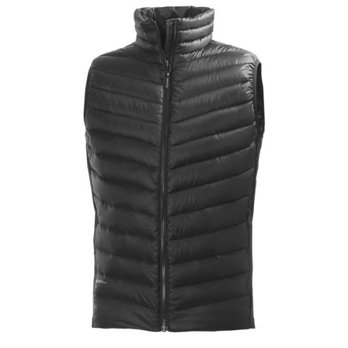 HELLY HANSEN VERGLAS DOWN INSULATOR VEST BLACK 62338-991
