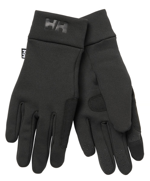 HELLY HANSEN HH FLEECE TOUCH GLOVE LINER BLACK 67332-990