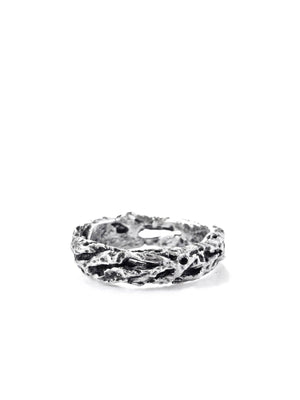 Atelier Hon'ne Riddle Ring - Black & Silver