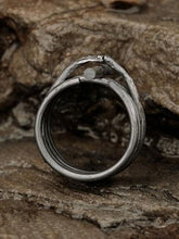 Lyleu Crux Ring - Oxidised