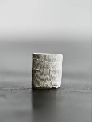 Detaj Medium Bandage Ring - White