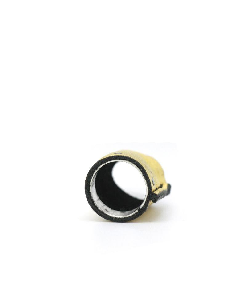 Detaj Short Haku Leather Ring