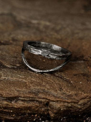 Lyleu Echus Ring - Oxidised