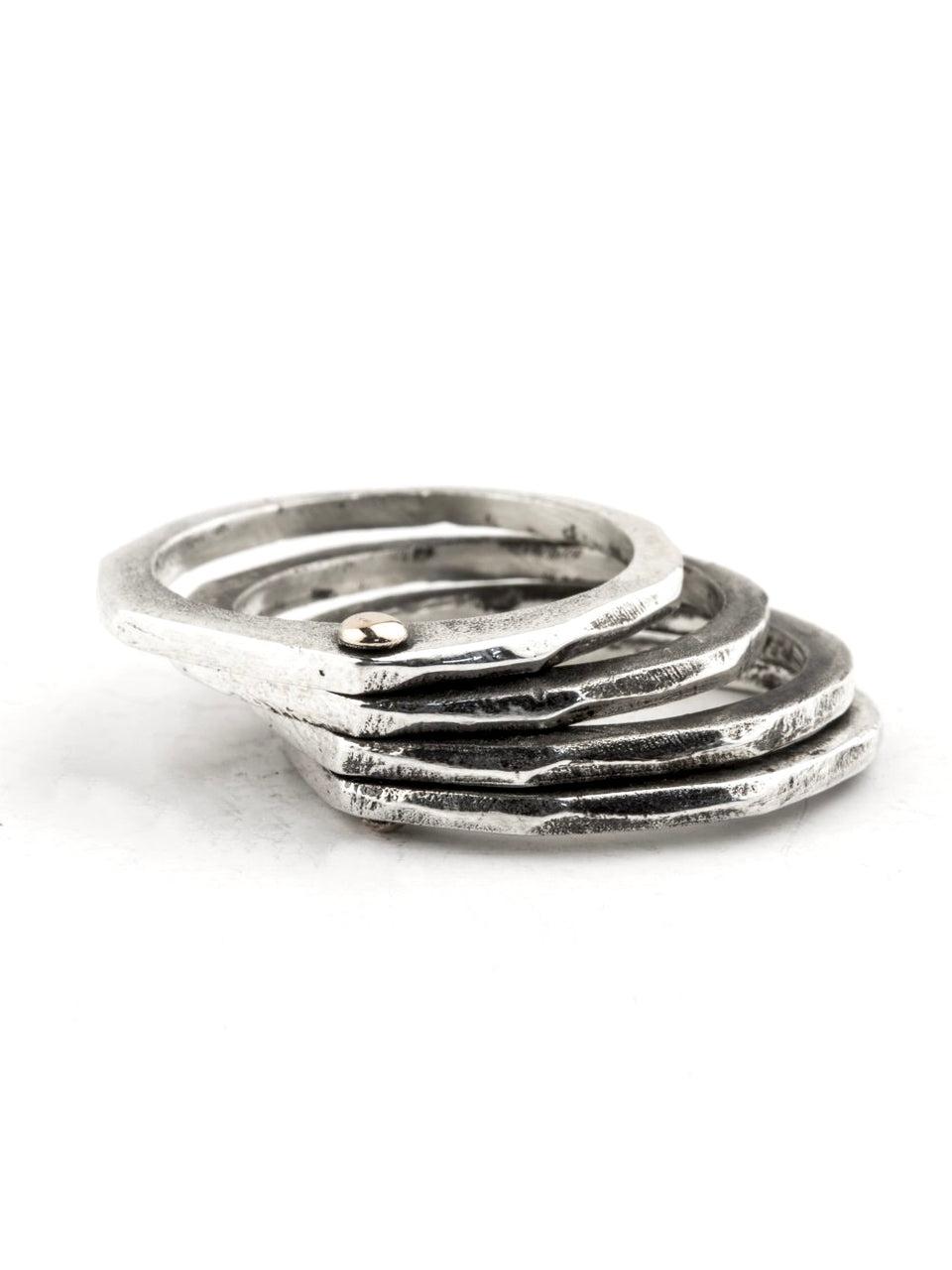 Henson Shakudo Linked Ring Set
