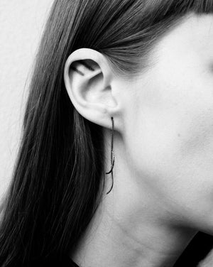 Jess Blak Textured Thread Earrings