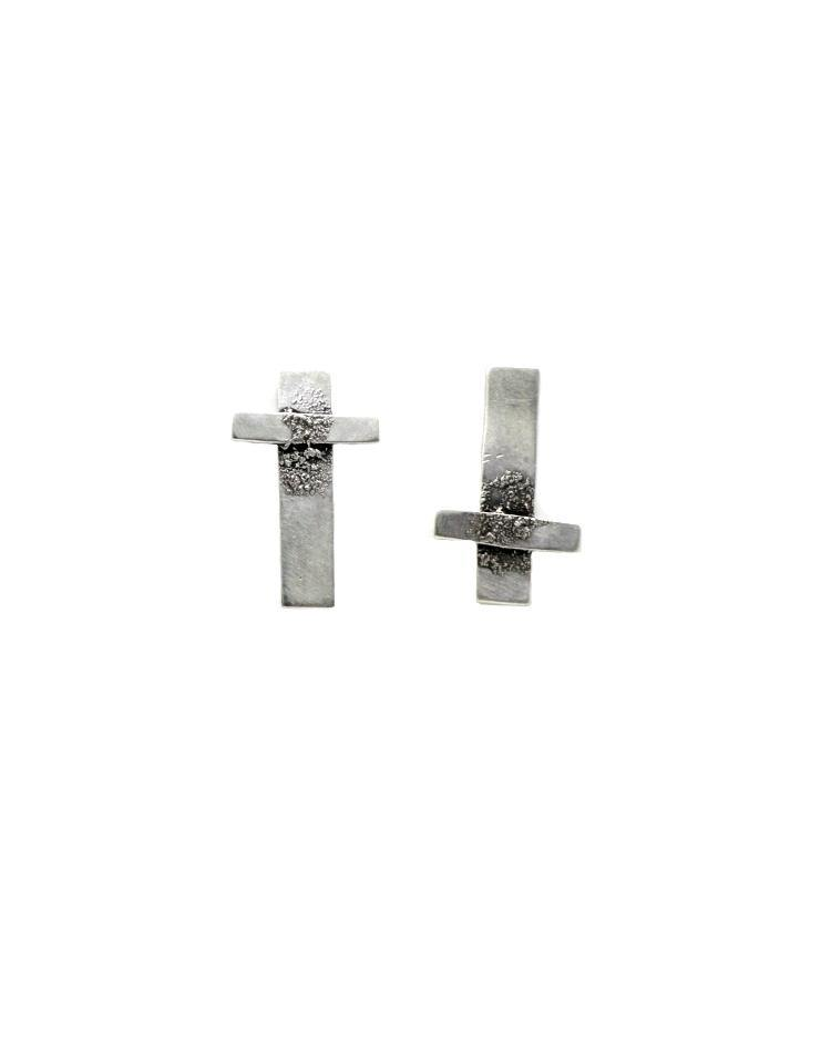 Jess Blak Inverted Cross Studs
