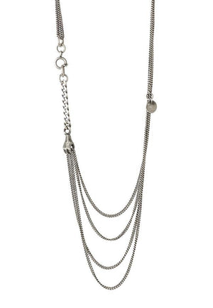 Asymmetrical Holding Hand Necklace - Julia Zimmermann