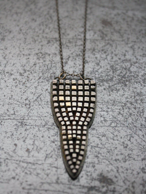 Aesa Shield Necklace