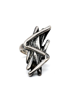 Patti Smith Lightning Bolt Ring