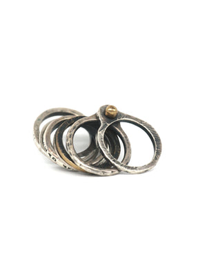 Tobias Wistisen Multiple Ring - Sterling Silver