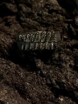 Tundra Humla Ring - Black - 6.5