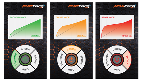 Pedal Torq Plus Settings