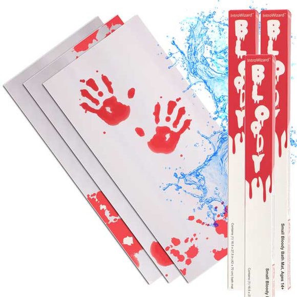 Small Bloody Bath Mat (3-Pack with Free Shipping!)