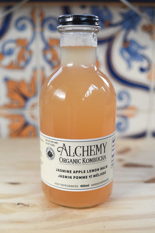 Jasmine Apple Lemon Kombucha