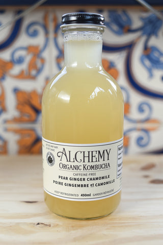 Alchemy Co. — Pear Ginger Kombucha