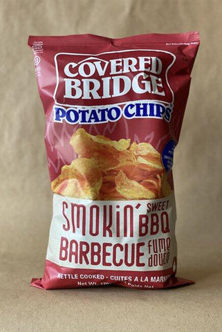 COVERED BRIDGE CHIPS — SMOKIN' BBQ (BIG GUY)
