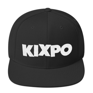KIXPO Run The Block Snapback Hat
