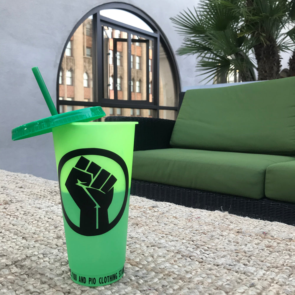 BLM Tumbler Campaign_Lime/Green