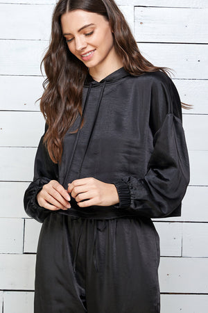 Just Dreamy silky smooth top with Hoodie
