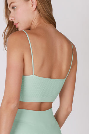 Twinklette waffle pattern Bralette - (New Colors Added!)