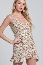Valley View floral ruffled short Dress