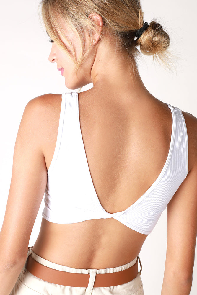 The Kylie reversible twisted Bralette