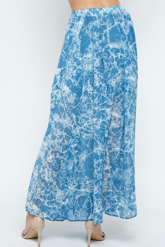 Marbled Crystals maxi Skirt - back in stock!