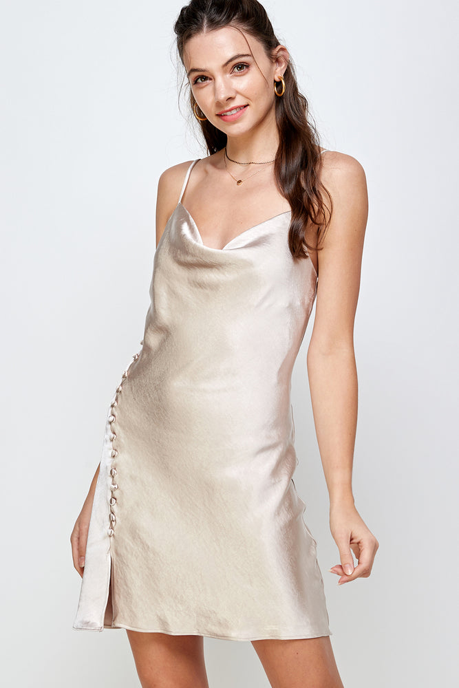 Crystal Mermaid silky smooth cami Dress (Back In Stock!)