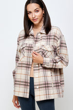 Make It Happen Flannel outwear or Top
