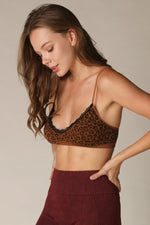Flavor Of The Week Leopard Bralette