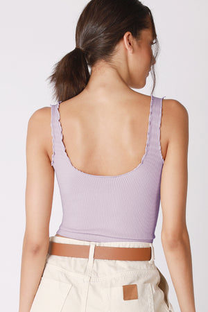 Ruffled Cute AF cropped Tank Top - WHITE STOCKED, others restocking soon!