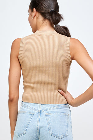 Smooth Like Butter knit crewneck Tank