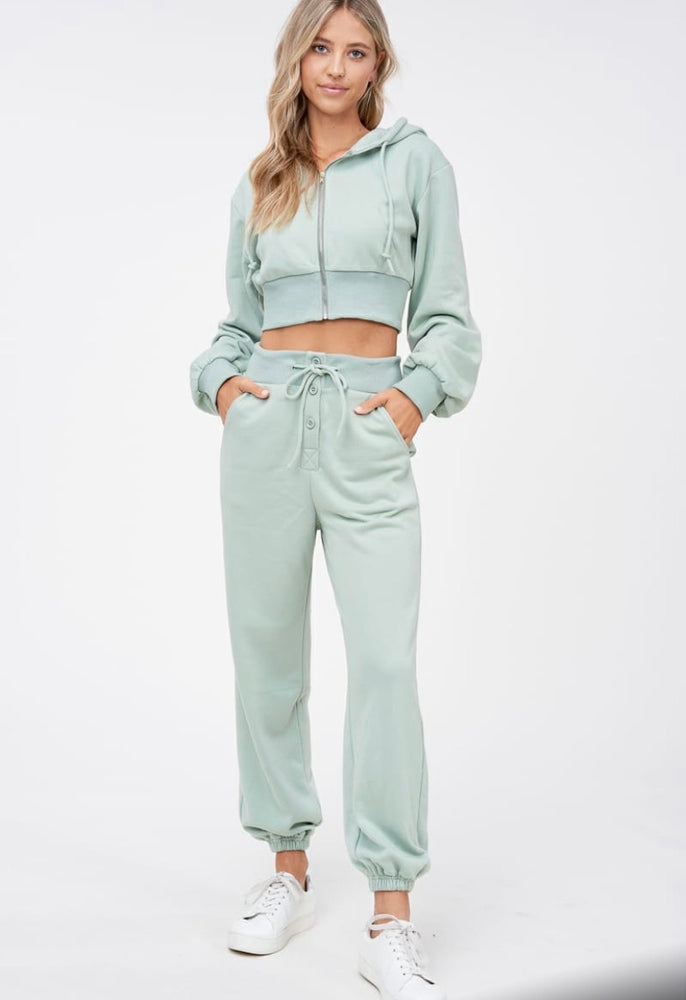 Quarantine QT sweatsuit Set