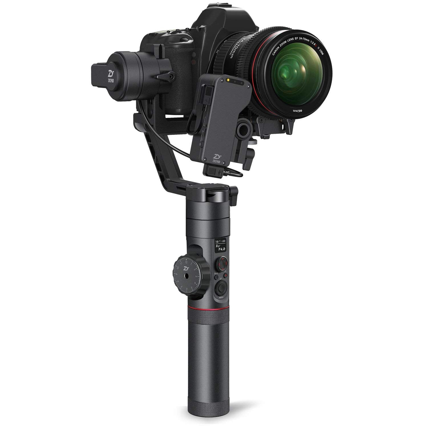 Official Crane 2 Gravity Adjustment Plate for 1DX to Adjust Heavy Camera and Lens Combos Like Canon EOS Zhiyun