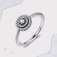 925 Sterling Silver Radiant Elegance Ring