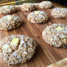 Pineapple Coconut Oatmeal Cookies (V/GF)