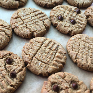 Peanut Butter Cookies (V/GF)
