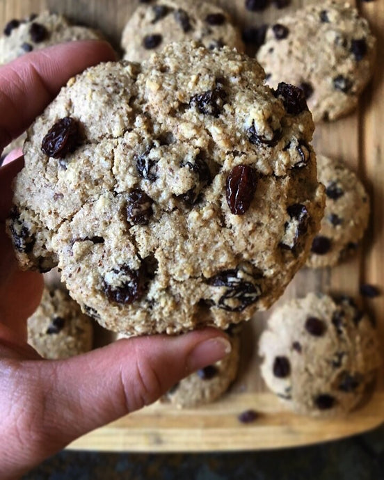 Oatmeal Raisin Cookies (V/GF)