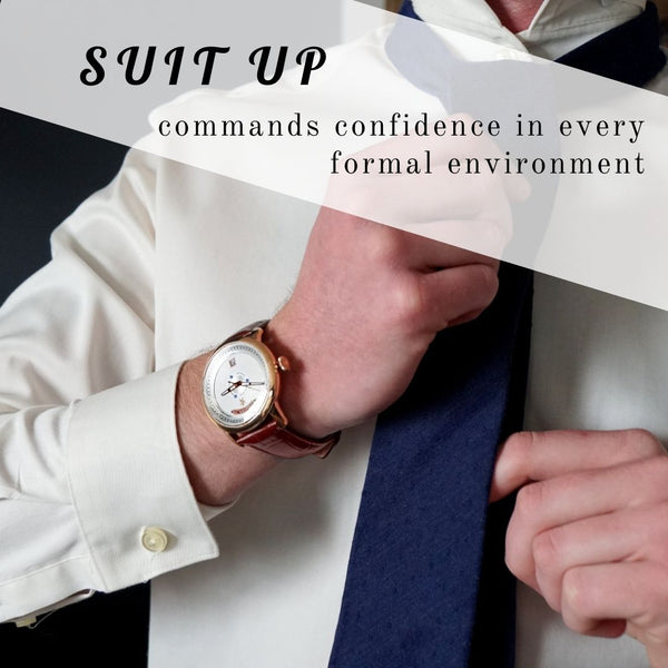 best mens watches for suits
