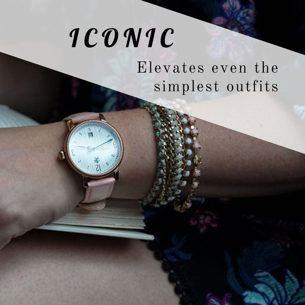 iconic ladies watches rose gold