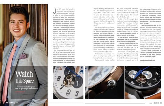 Samuel J. founded Watch company bringing timeless elegance to timepieces