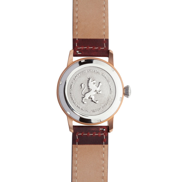 Rose Gold Steel - Samuel James Watches