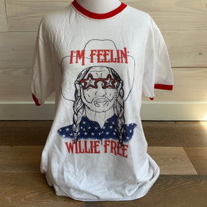 White Feelin' Willie Free Tee