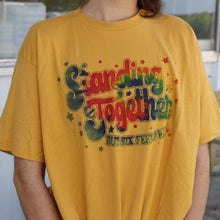 Load image into Gallery viewer, Yellow Standing Together Tee
