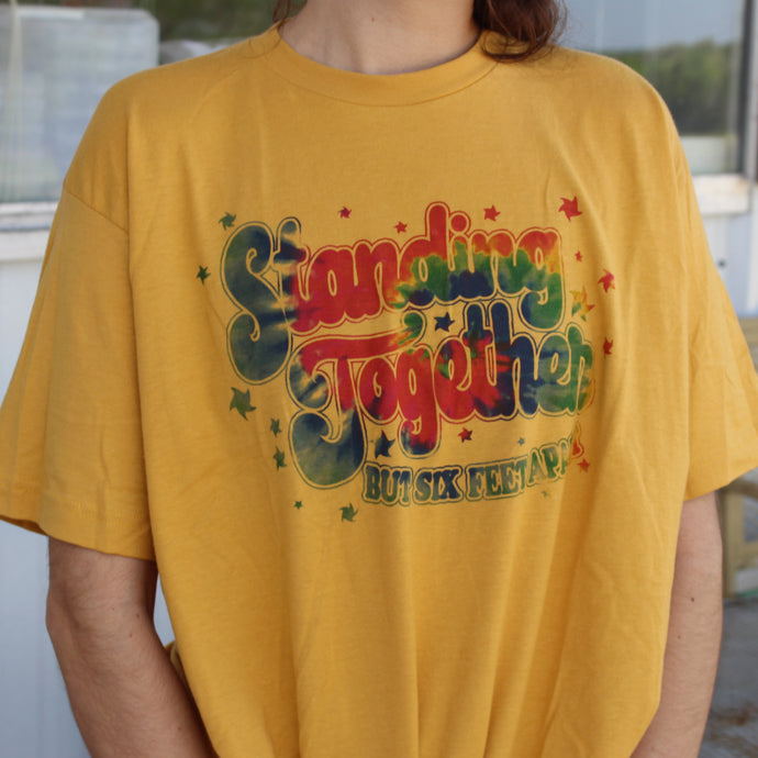 Yellow Standing Together Tee