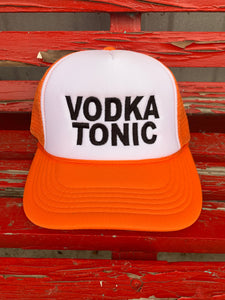 Vodka Tonic Trucker Hat